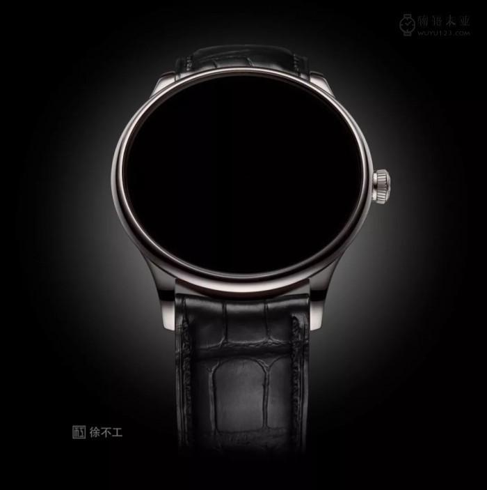 史上首枚看不见时间的腕表诞生