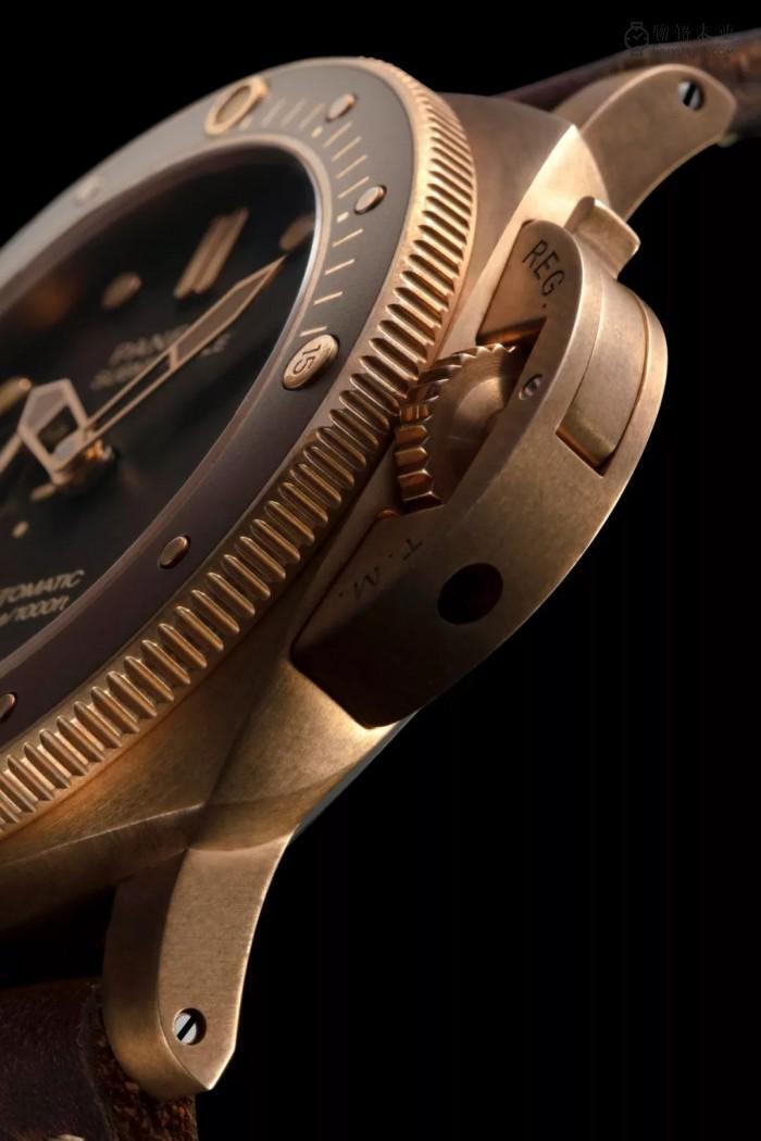 潮流符号:沛纳海青铜表!