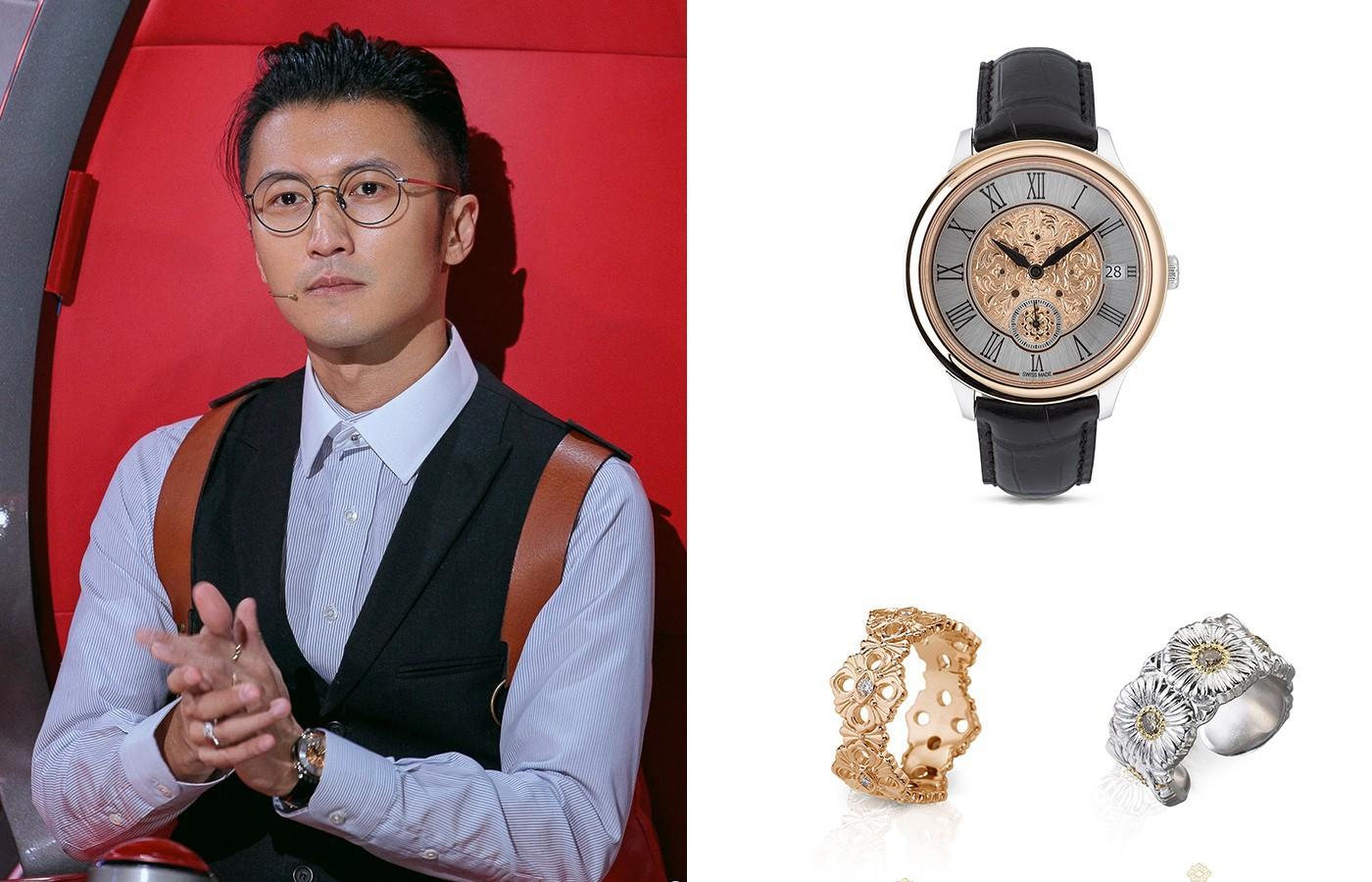 硬汉还是绅士?那要看谢霆锋今天带什么手表